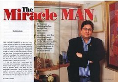 Society - The Miracle Man - Dr. Gautam Allahbadia